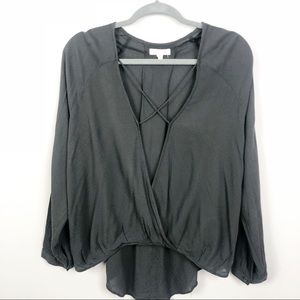 Urban Outfitters | silence + noise | Black X Top